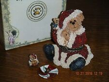 Boyds Bears Treasure Box ~1E S.C. Kringlebear With Wrapper~ Style #392172