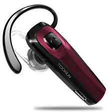 TOORUN M26 Bluetooth Headset V4.1 Bluetooth Earpiece with Voice Reminder and ...