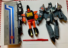 RARE VINTAGE ROBOTS TRANSFORMERS POWER RANGERS & OTHERS LOT 9 AS IS