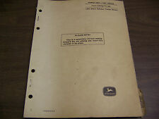 11907 John Deere Parts Catalog Power Unit 165 Pc-667 Dated May 68