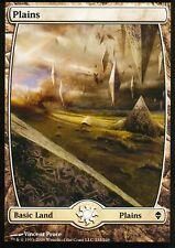 Plains - Version 8 (Full Art) | NM | Zendikar | Magic MTG