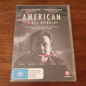 American The Bill Hicks Story DVD R4 BRAND NEW SEALED! FREE POST