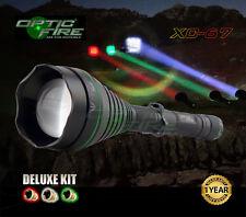 Opticfire XC-67 LED Deluxe hunting torch gun light lamping lamp kit - T67 lens