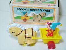 Marx Toys 5481 NODDY'S HORSE & cart-Rare Old negozio stock