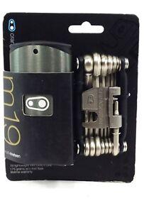 Crankbrothers M19 Bike Multi-Tool (Midnight Black),19 Functions, Compact & Light