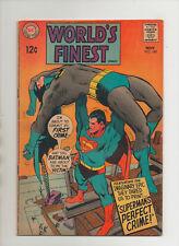 World's Finest #180 - Batman & Superman Cover - (Grade 4.5) 1968