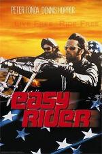 EASY RIDER - FLAG MOVIE POSTER - 24x36 FONDA HOPPER 6934