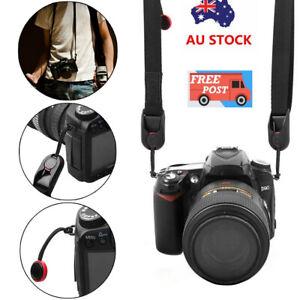 Quick Release DSLR Camera Cuff Wrist Belt Leash Shoulder Strap Sling ABS Buckle