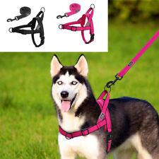 Reflective Dog Harness Leash Lead Set Durable Adjustable Safety Harness no Choke