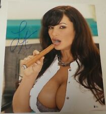 Lisa Ann Signed 16x20 Photo BAS Beckett COA MILF DVD Porn Star Picture Autograph