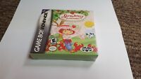 Strawberry Shortcake: Summertime Adventure Nintendo Game Boy advance gba