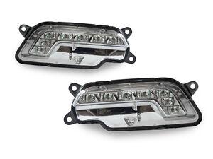 Front Bumper LED Daytime Running Fog Light Fit For 10-13 Mercedes-Benz E350 E550