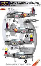 LF Models Decals 1/72 VULTEE BT-13 LATIN AMERICAN VIBRATORS Part 2