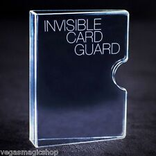 Invisible Card Guard - Protect Your Poker Sized Playing Cards -Great 4 Magicians