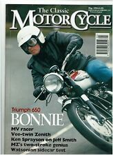 THE CLASSIC MOTORCYCLE MAY 1994 - VINCENT COMET TEST / WATSONIAN SIDECAR TEST