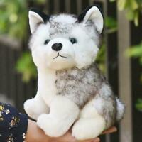 1PC Plush Doll Soft Toy Stuffed Animal Cute Husky Dog Baby Kids Pet Gift Toys