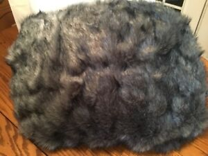 "NEW Pottery Barn TEEN Faux Fur Baloo LARGE 41"" Beanbag Slipcover Cover"