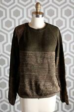 NWT See by Chloe Metallic Crew Neck Pullover Italy 42 $350 Green