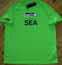 Under Armour Licensed NFL Seattle Seahawks Combine shirt NWT mens' XL
