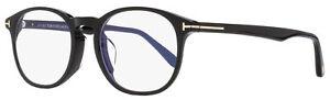 Tom Ford Blue Block Eyeglasses TF5680FB 001 Black 52mm FT5680