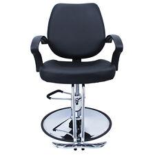 Classic Black Hydraulic Barber Chair Hair Cutting Cape Salon Beauty Spa Styling