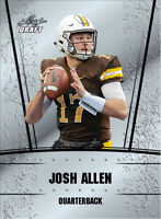 25 card lot 2018 Leaf Silver Draft JOSH ALLEN Rookies gem mint Buffalo Bills
