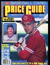 SCD Baseball Card Price Guide January 1989 Chris Sabo EX No ML jhscd5