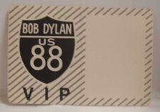 Bob Dylan - Original Concert Tour Cloth Backstage Pass *Last One*