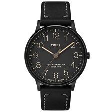 Reloj Timex Waterbury Clásico Negro