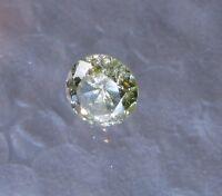 0.39 Carat Loose Natural White Yellow Round Cut Brilliant Diamond Free Shipping