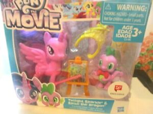 MY Little Pony Walgreen's exlcusive Sparkler and Spike the Dragon new in box.