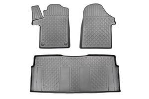TPE Schmutzfangmatten Fußraumschalen für Mercedes V-Klasse W447 Tourer 2014-