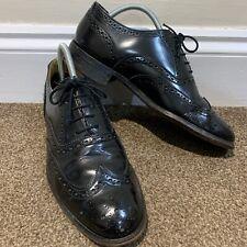 Loake Black Leather Brogues Mens UK Size 7
