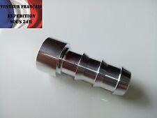 Embout en aluminium à souder pour durite, diamètre ext. 19 mm VENDEUR FRANCAIS