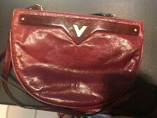 New listing Mario Valentino vintage leather shoulder bag/clutch