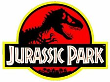 Jurassic Park Logo Cake Topper Edible Wafer Paper Cake Toppers ANY SIZE