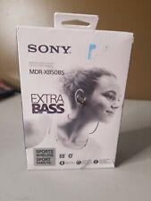Sony MDR-XB50BS Wireless Bluetooth In Ear Headphones - Black Open Box