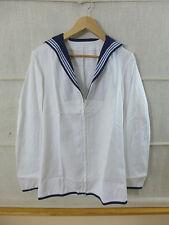 GB British Navy JUMPER Man's White 170/104/84 Matrosenhemd Sailor Shirt Medium