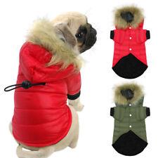 Hundemantel Winter Hundejacke Hundekleidung mit Kapuze Französische Bulldogge