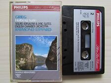 GRIEG HOLBERG SUITE BY RAYMOND LEPPARD CASSETTE, 1980 PHILLIPS, HOLLAND, TESTED