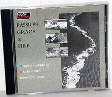 CD JOHN McLAUGHLIN-AL DI MEOLA-PACO DE LUCIA - Passion Grace & Fire