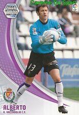 320 SISI ESPANA REAL VALLADOLID FC.GIFU JAPAN TARJETA CARD MGK LIGA 2008 PANINI