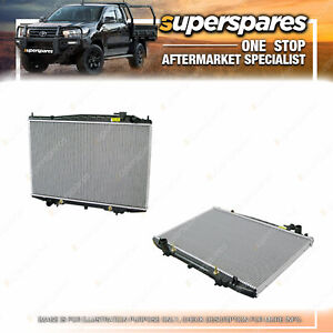 Superspares Radiator for Nissan Elgrand E50 DIESEL AUTOMATIC 1997 - 2002