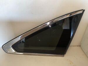18 Acura MDX Quarter Passenger Right Quarter Glass Fits 14-18 MDX