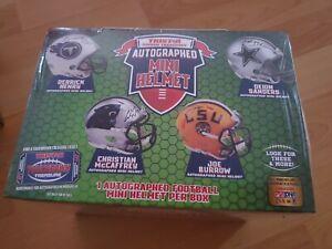 Tristar Hidden Treasures Mini Football Helmet Green Box Ships Same Day