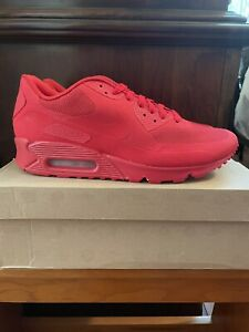 Nike Air Max 90 HYP QS Independence Day Red Kanye Size 10