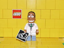 Lego Simpsons Series 2 Dr Hibbert NEW (No Packet)