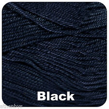 King Cole Giza Cotton 4 Ply 2201 Black