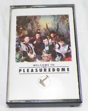 1984 FRANKIE GOES TO HOLLYWOOD WELCOME TO THE PLEASUREDOME CASSETTE TAPE  -A