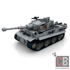 Custom PDF Instructions ww2 WWII TANK PzKpfw VI Tiger for LEGO ® Bricks